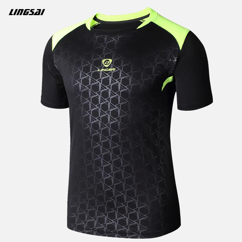 LINGSAI Brand Men Splice 3D Shirt T shirt Quick Dry Summer Style Compression Shirt hip hop Top Sports t shirt Soccer Jersey 3XL(China (Mainland))