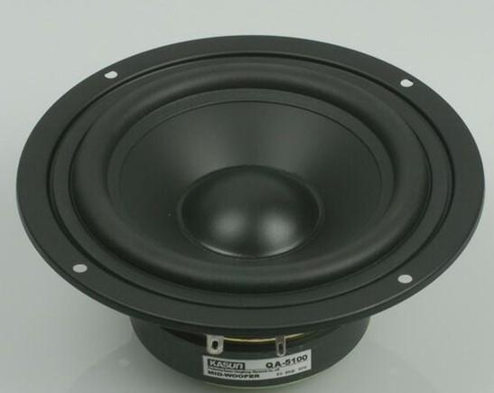 2015 new KASUN midrange loudSpeaker 5 inch QA-5100 5-inch mid-bass mid bass peaker 90W 8 ohm for amplifier WOOFER speaker(China (Mainland))