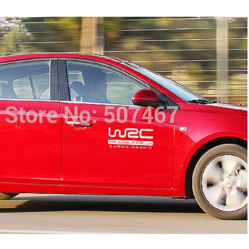 2016 New WRC car stickers side door Scratch sticker ----M car-styling accessories car-covers automobiles - Find Something Here store