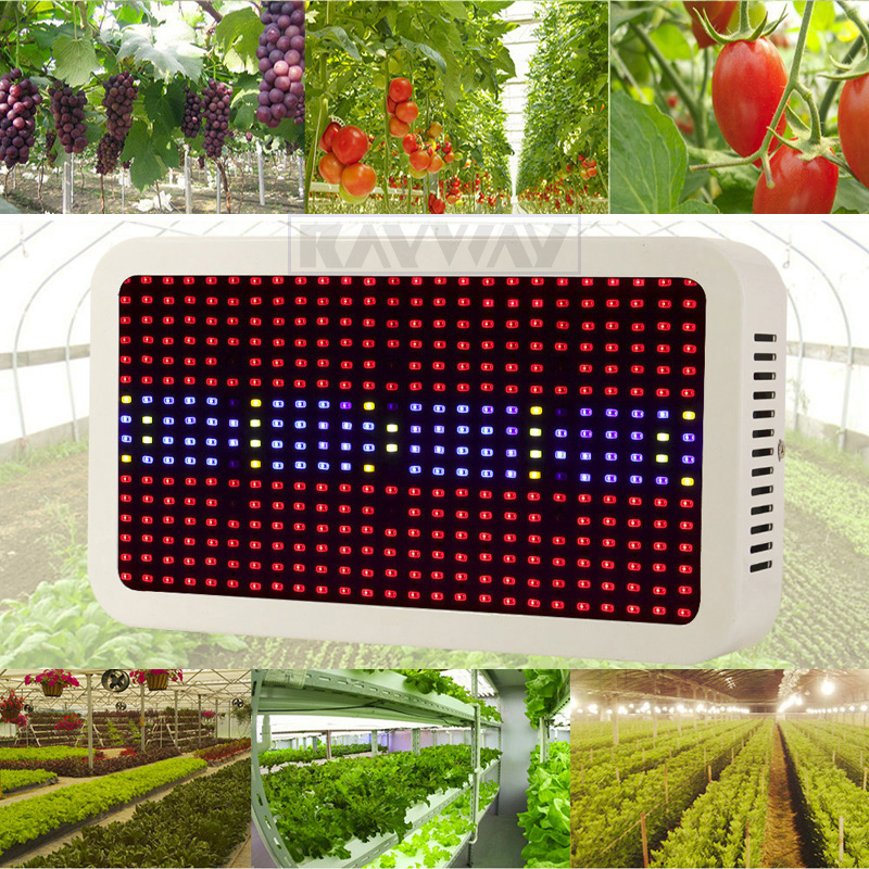 Greenhouse LED Grow Light Full Spectrum 400W 600W Indoor Plant Lamp For Plants Vegetable Hydroponics System Grow Bloom Flowering(China (Mainland))