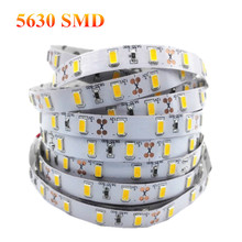 1/2/3/4/5M High Quality LED Strip Light 5630SMD Super Bright DC12V Stripe String LED Tape Non-waterproof Indoor Home Decoration(China (Mainland))