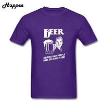 Buy Geek Adult Tee Shirt Beer Helping Ugly People Sex Since 1862 T-Shirt Funny 100% Cotton Camisetas Men XS-3XL T Shirts for $12.54 in AliExpress store