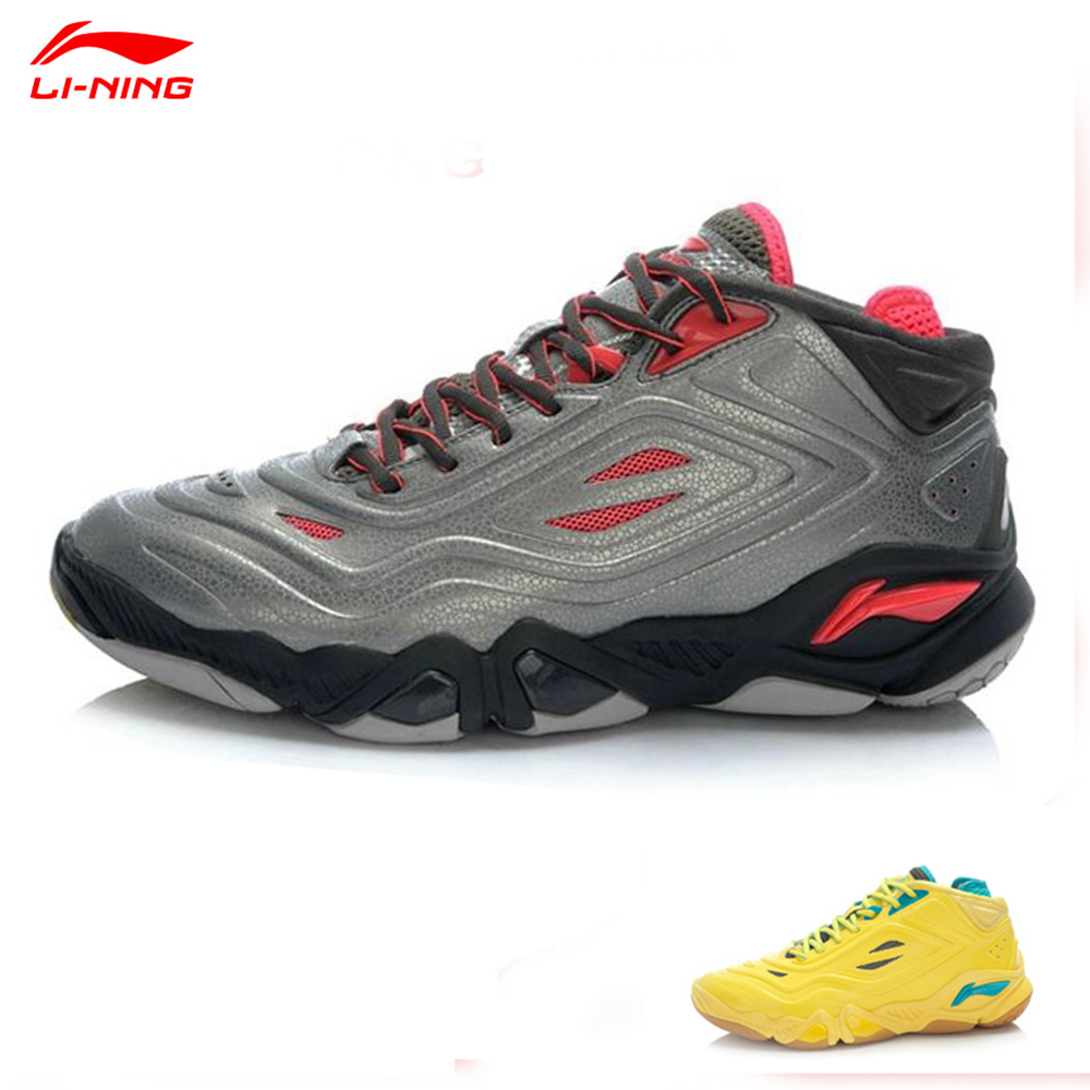 2014 Thomas-Uber Cup World Championships professional badminton shoes Chen Long Lining  Badminton Professional Shoes AYAJ053