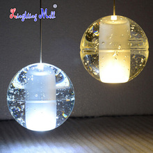 DIY Customized Crystal Chandeliers Lighting Magic Crystal Ball for Bocci Meteor Style Lights pendentes G4 LED Lamps(China (Mainland))