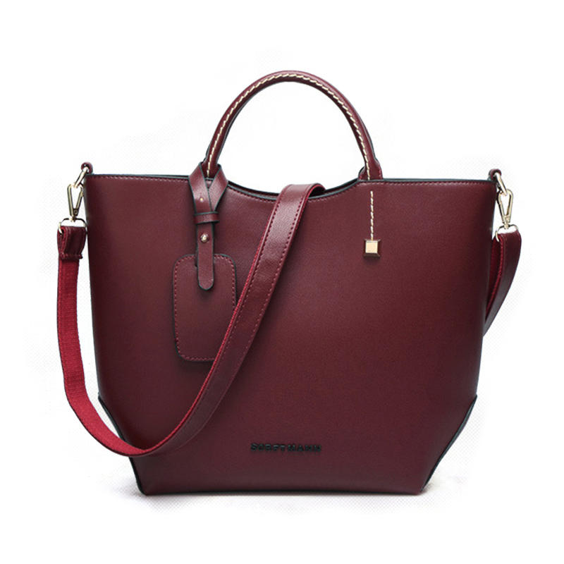 designer brand women ladies handbag shoulder top handle causal tote bags Khaki black burgundy Minimalist simple British style(China (Mainland))