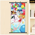 45X95CM Aikatsu Idol Activity Ichigo Otome Aoi Ran Moe Anime Cartoon scroll wall picture mural poster