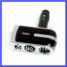 USB Port Twin Way Car Lighter Power Socket Splitter Charger Adapter Free Shipping