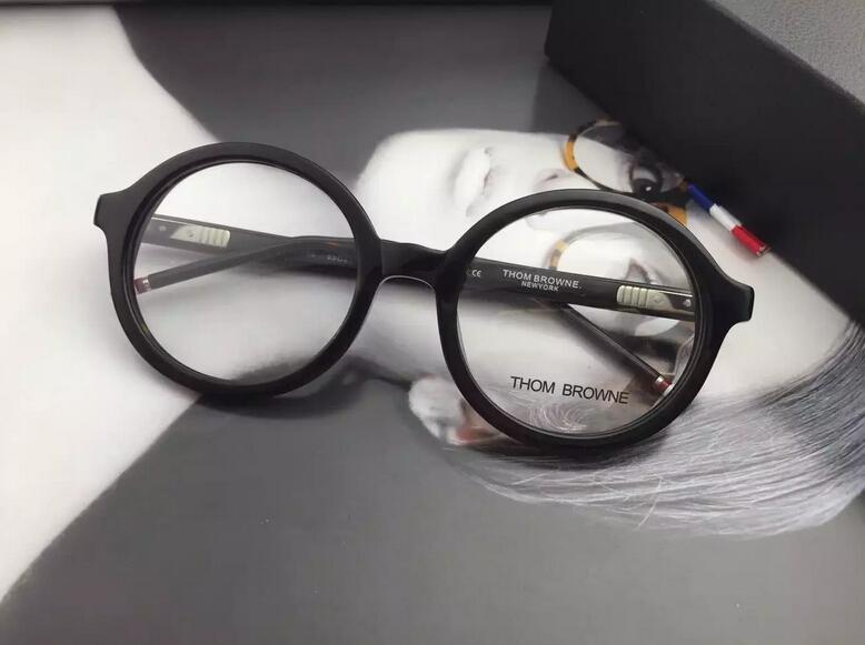 thom browne eyewear Retro round frame glasses frame ...