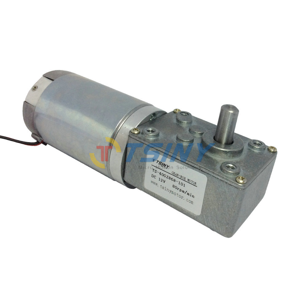 Buy 12v 80rpm High Torque Worm Motor