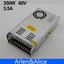 350 W 60 V 5.8A Salida Única de la Conmutación fuente de alimentación de CA A CC para CNC Llevó la tira