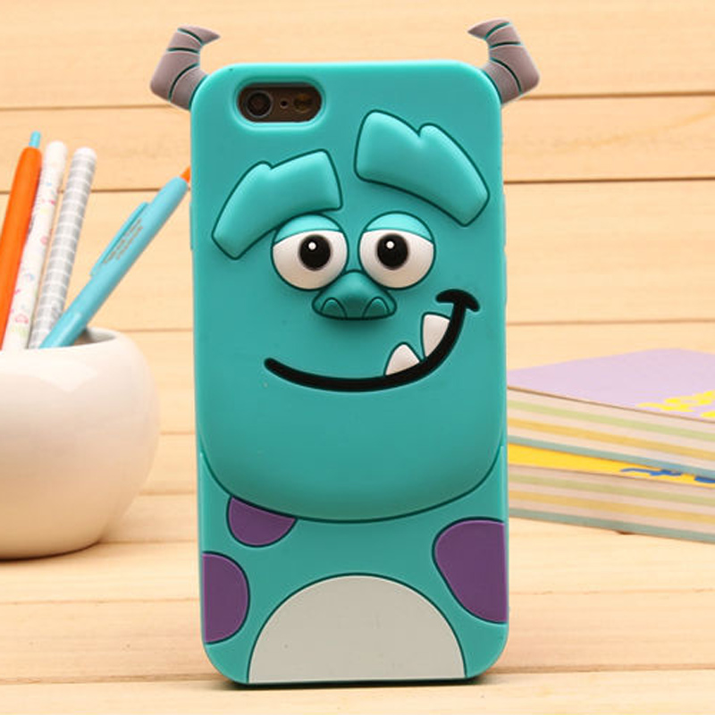 3D Cartoon Monsters University Sully Tiger Silicone Soft Cover Case Huawei G8 G7 plus P6 P7 P8 P9 lite Silicon case  -  Yi Xing digital accessories store