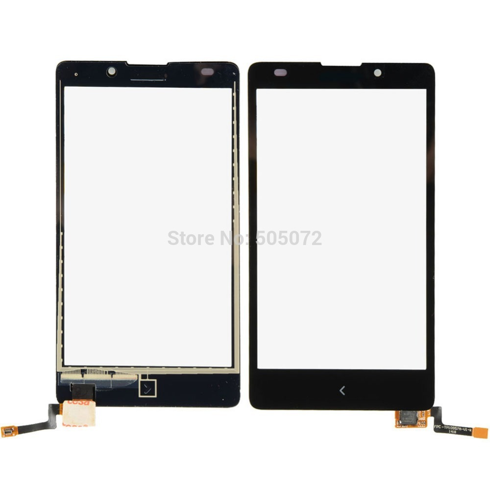 Hot selling!New Black Front Touch Screen Digitizer Replace for Nokia XL RM 1030 RM 1042 VA002 P