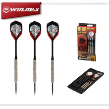 "WINMAX ""KING"" Best Quality 90% Tungsten 22G & 24G Steel Tip Darts for Bristle Sisal Dartboard Paper Dartboard(China (Mainland))"