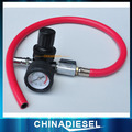 New Arrival With Simple Adapter Radiator Water Pressure Tester Car Radiator Cooling Systerm Leakage Detector Tester