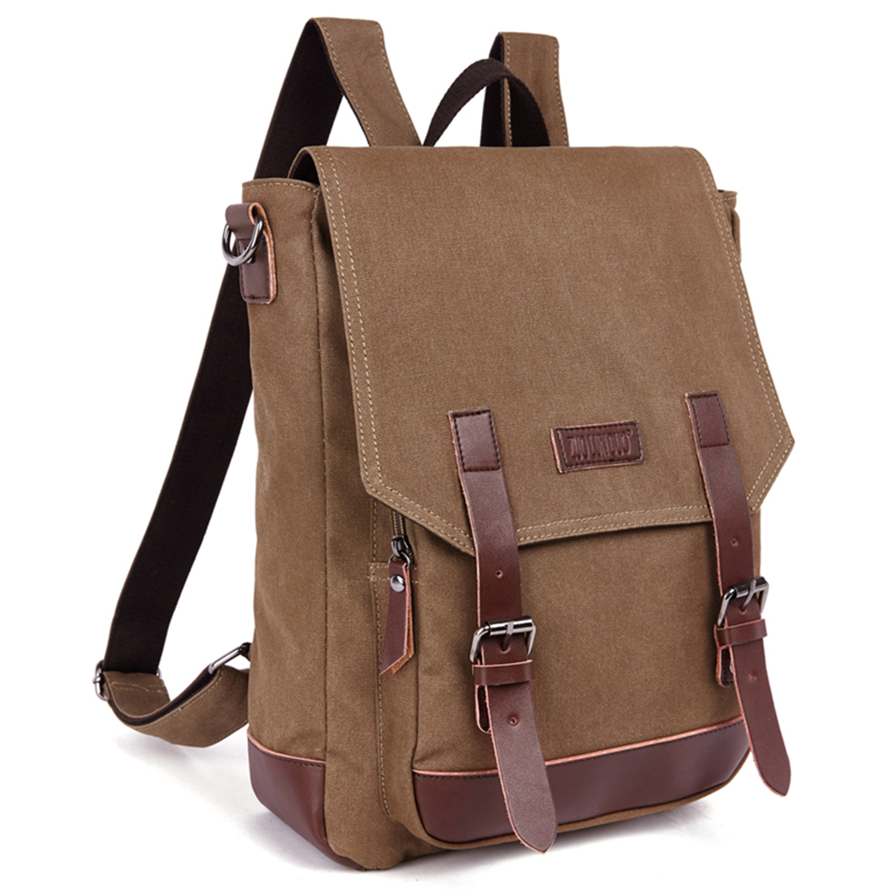 Men Vintage Canvas Backpack Rucksack Men Mountaineering Book Backpack School Backpack For Outdoor Free shipping <br><br>Aliexpress