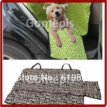 W110Cradle Pet Dog Car Auto Cat Rear Back Seat Cover Mat Waterproof Hammock Blanket  Cushion Protector Free Shipping(China (Mainland))