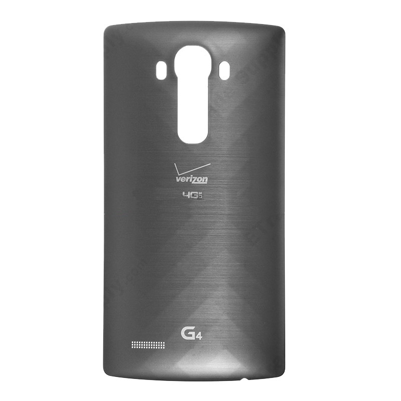 Qi Wireless Charging NFC Battery Door for LG G4 Original Back Cover Plastic Backed Replacement with Verizon and G4 Logo VS986(China (Mainland))