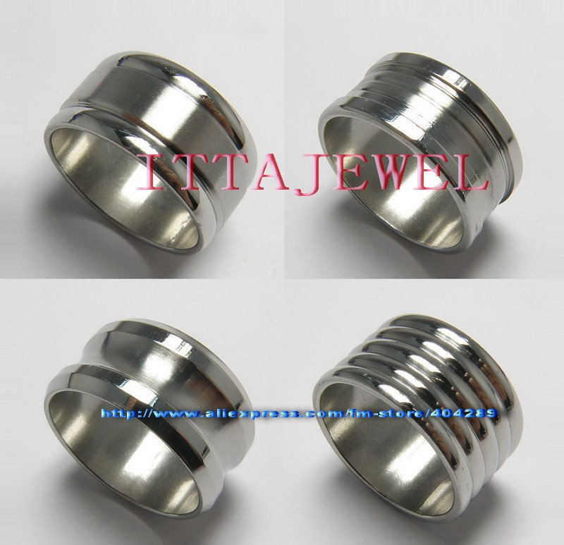 wholesale 36pcs 12mm wide mixed style s stainless