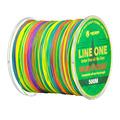500M LINE ONE4X MODERN FISHING Brand 1M 1 Color Japan Multifilament PE braided fishing line 4
