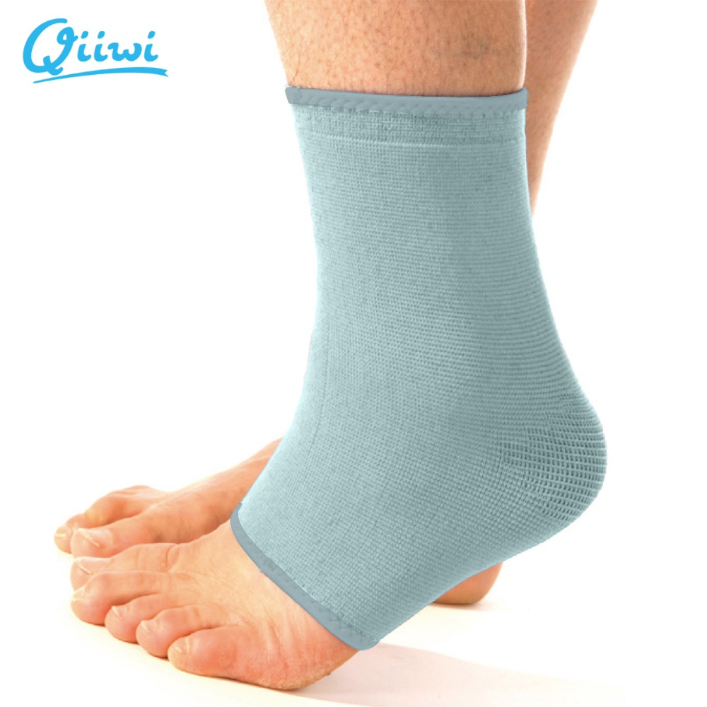 Qiiwi high quality elastic ankle leg support guards strap brace sports protective bandage football ankle support free shipping()
