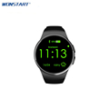 Bluetooth KW18 Smart Watch Connected WristWatch for Android Smartphones Support Sync Call Messager