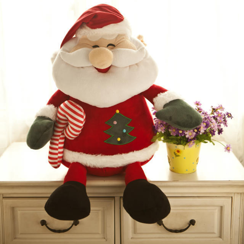 Santa Claus doll Christmas gift plush toy 110cm Santa Claus plush toy doll gift for Christmas toys(China (Mainland))