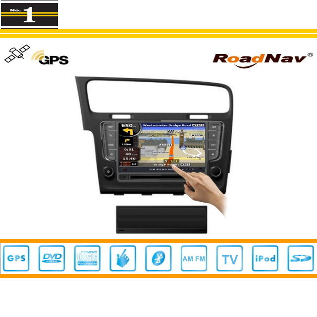 For VolksWagen VW Golf Wagon 2013~2014 - Car GPS Navigation System + Radio TV DVD BT 3G WIFI HD Screen S100 Multimedia System(China (Mainland))
