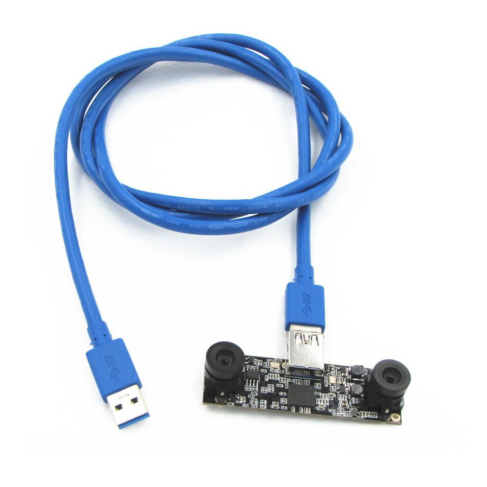 MJPEG 30fps 2560*720 Sony IMX179 UVC Plug Play Driverless Windows Linux Android Mac webcam stereo usb camera module board(China (Mainland))