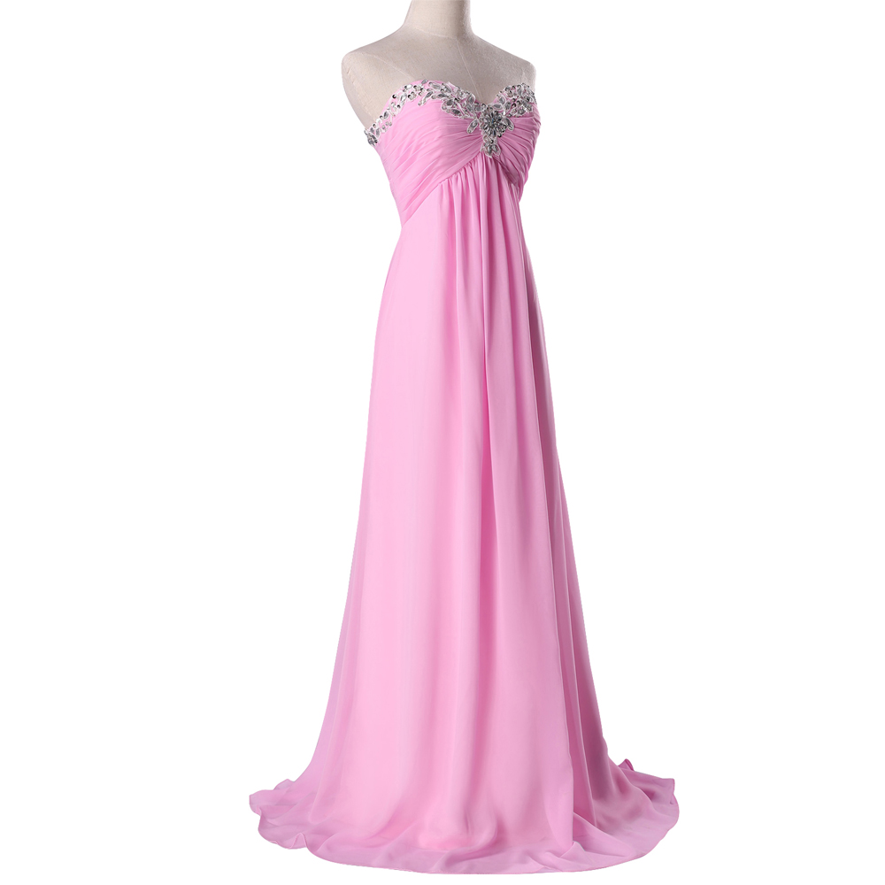 Buy Strapless Coral Colored Bridesmaid