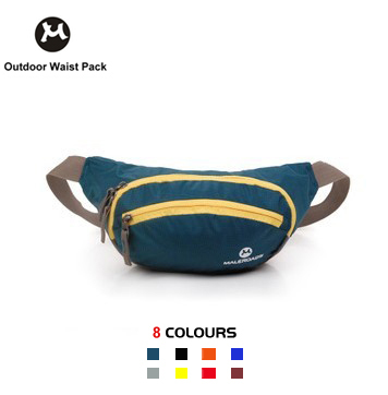 8 Colors Outdoor sports Cycling Waterproof Belt Waist Bag Fanny Packs Hiking Climbing Bumbag Free Drop Shipping - Fiona Outdoors Gear store
