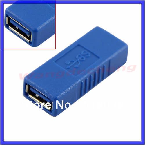F98 High Speed USB 3.0 Type Female F/F Plug Converter Connector Adapter - eva's market store