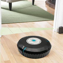 9 inch Home Robotic Smart Auto Cleaner Robot Microfiber Mop Dust Cleaning Black(China (Mainland))