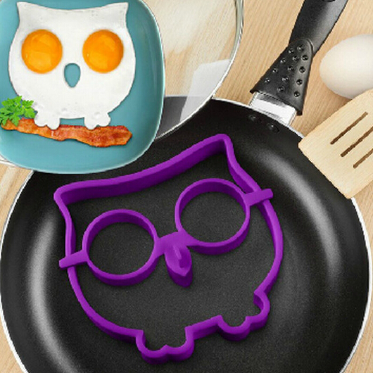 1Pc Egg Mold Creative Silicone Owl Shaped Fried Pancake Mold Mould DIY Kitchen Gadget Tools 25726(China (Mainland))