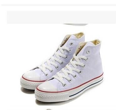 High canvas shoes male shoes women's classic sweet lacing casual lovers single flat shoes