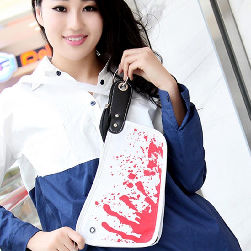 New Vintage Retro Korean Knife Fashion Blood canvas Coin Change Key Purse Handbag Bag wallet women clutch casual floral(China (Mainland))