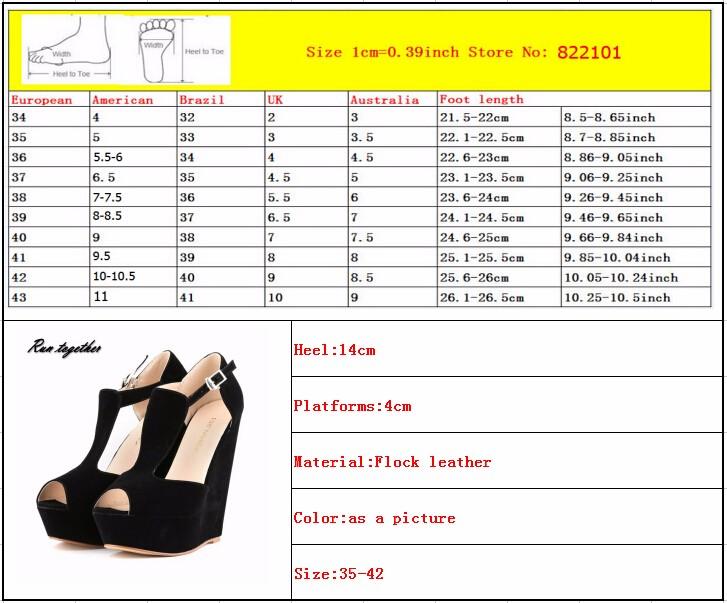 ซื้อ ฤดูใบไม้ผลิฤดูร้อนแฟชั่นใหม่เซ็กซี่ผู้หญิงปั๊มp eep toeดจ์แพลตฟอร์มรองเท้าส้นสูงรองเท้ารองเท้าผู้หญิงหัวเข็มขัด35-42 loslandifen