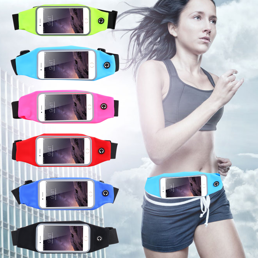 FOR INNOS D6000 Phone cases FOR Innos D6000 case cover celular GYM Waist Bag Waterproof sports running mobile phone Pouch(China (Mainland))