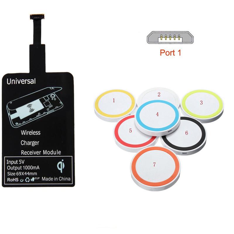 Wireless Charging Kit : Qi universal wireless charging kit charger