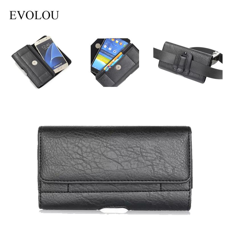 Belt Clip Phone Bag HTC M8 M9 M7 E8 LG G2 G3 G4 G5 Sony M2 Z3 Z4 Z5 Case Cover Waist Bag Universal Holster 4.7-6.3''
