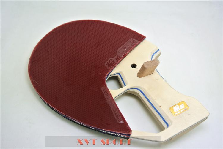 SALE SANWEI 9th Generation Ready Made Pistol Table Tennis Racket / Ping Pong Racket/ table tennis bat Free Shipping(China (Mainland))