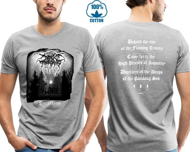 Darkthrone /'Panzerfaust/' T-Shirt-Nuevo Y Oficial!
