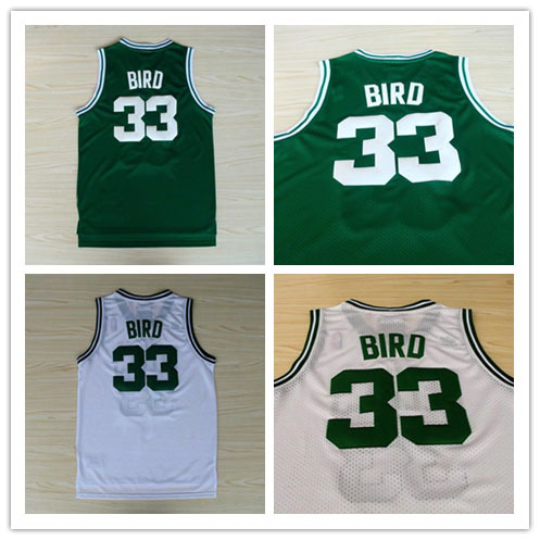 Free Shipping Boston #33 Larry Bird Jersey, Top Sales Throwback Jerseys, 2015 cheap Basketball Jerseys, Retro basket shirt(China (Mainland))