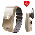Original Uwatch U20 Umini Smart Bracelet watch Earphone headset MTK2502 Heart Rate Monitor Bluetooth Fitness Tracker