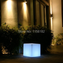 20cm Solar LED rechargeable Light Cube  for Garden/Outdoors