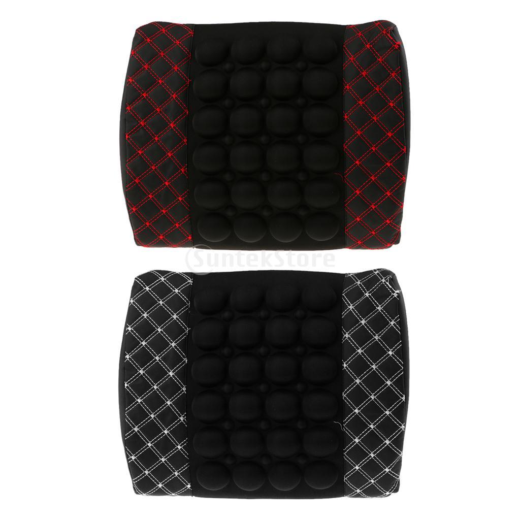 Lumbar Back Massage Holder Support 12V Car Seat Chair Cushion Office(China (Mainland))