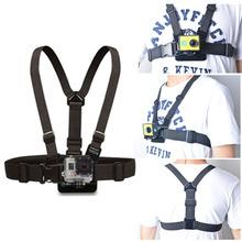 Gopro Accessories Chest Strap  Camera Harness Adjustable Chest Belt Strap Mount  Xiaomi Yi Gopro Hero 4 3 2 Black Edition