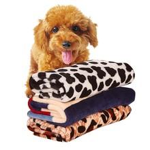 3 Size Warm Pet Pad Blankets Pet House Mat Star Print Cat Kitten Dog Puppy Fleece Soft Blanket Beds Mat S M L(China (Mainland))