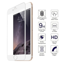 0.33mm 3D Premium tempered Glass for iPhone 6 Screen Protector for iPhone 6 6s in full Screen Edge Protective Film