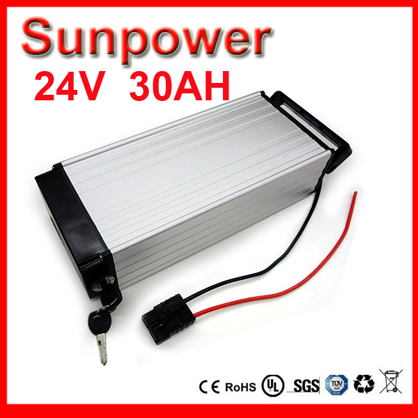 24V 30AH Lithium Battery Electric Bicycle Scooter 24V Battery Lithium-ion ebike battery pack AKKU with 30A BMS ,CHARGER(China (Mainland))