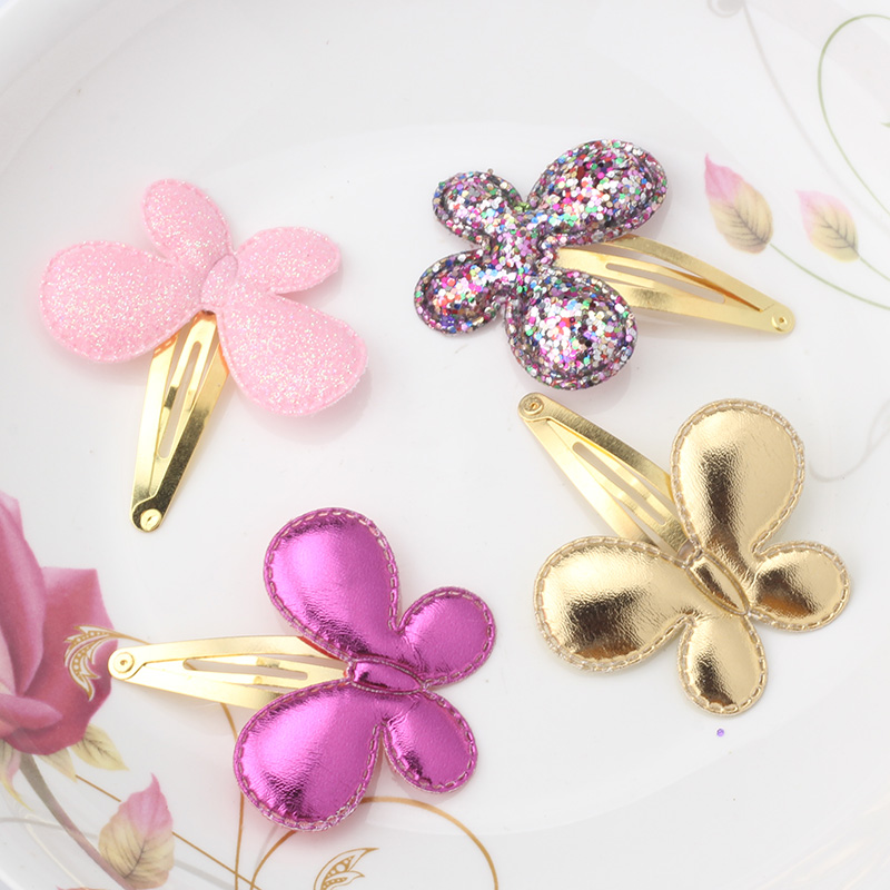 Baby Girls Hair Accessories Sequins Heart Butterfly Barrettes Glitter Stars BB Clip Hair Clips Kids Children Hairpin Wholesale(China (Mainland))